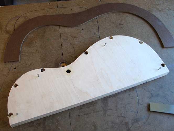 bending 1/2 plywood 2
